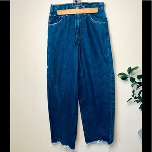 🌹 3 for $20 Cropped High Waisted wide leg jeans